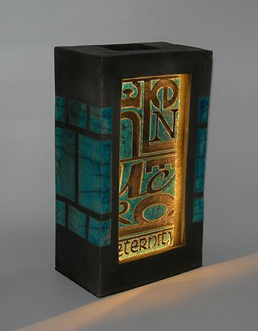 Inner lite vase box form (illuminated)