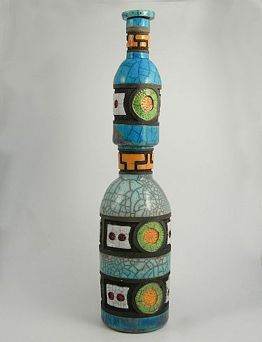 Tall double bottle form
